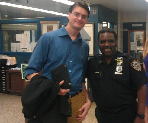 Christian Ottosson hos New York-polisen