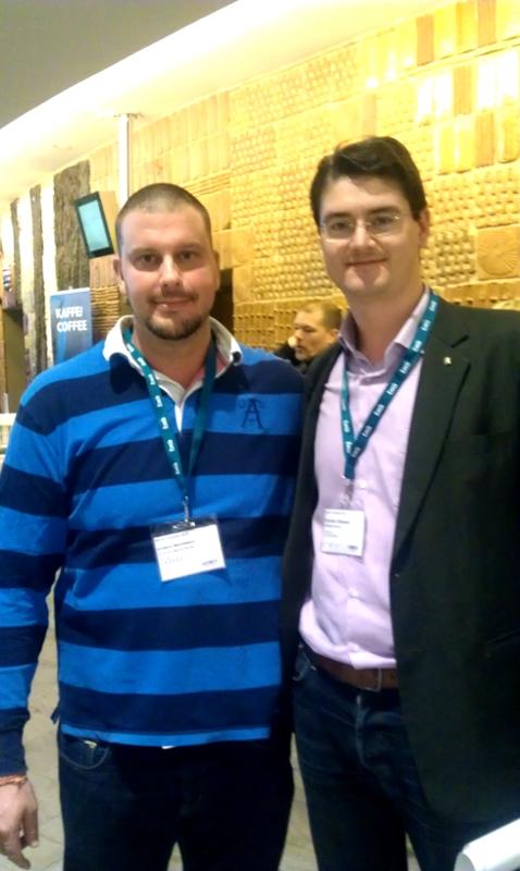 Anders Berntsson & Christian Ottosson, Brås konferens nov 2013