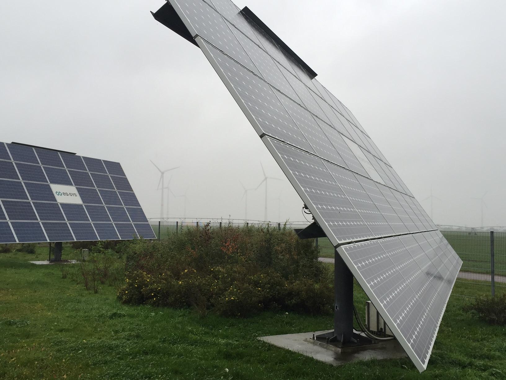 VIndkraft och solenergi i Feldheim